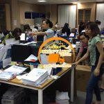 Hình ảnh chuyển văn phòng Vinaconex 9