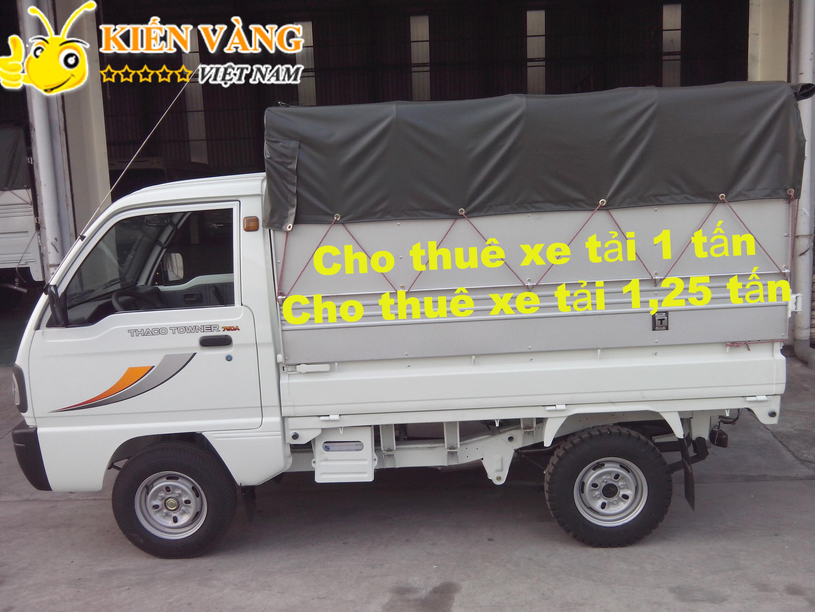 cho thuê xe tải 1 tấn, cho thuê xe tải 1,25 tấn