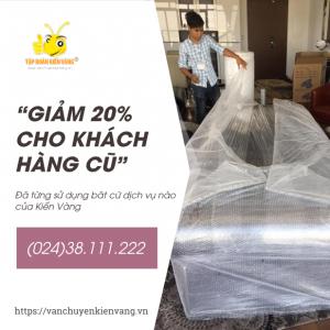 giảm 20% giá dịch vụ cho khách hàng cũ Kiến Vàng