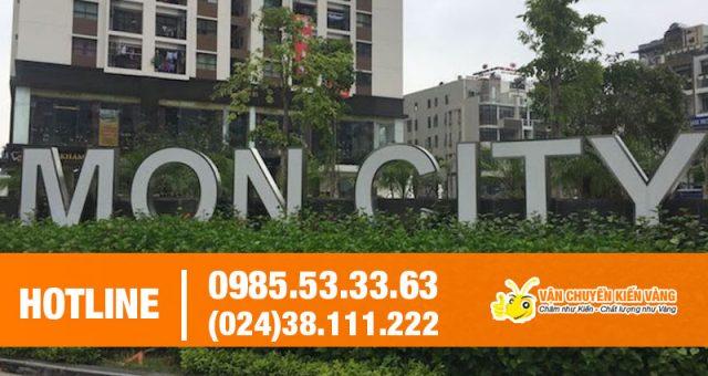 Dịch vụ chuyển nhà trọn gói chung cư Mon City
