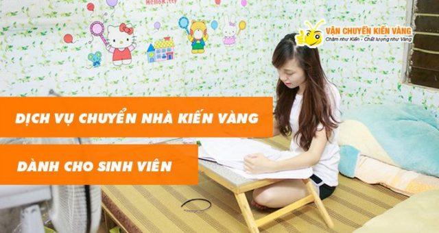 Dịch vụ chuyển nhà sinh viên Hà Nội